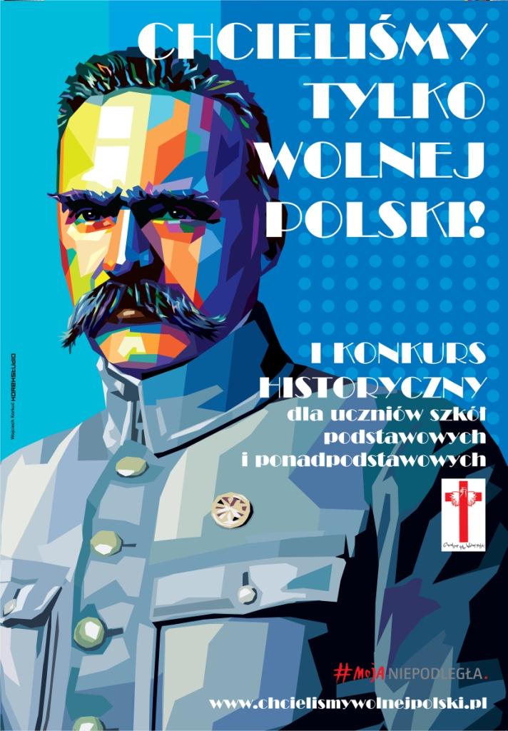 Plakat_Konkursu_Chcieliśmy_tylko_wolnej_Polski_30x40
